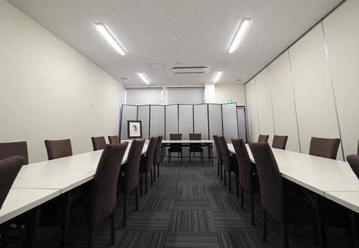 写真:会食室